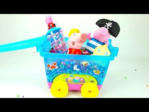 Игрушки и Сюрпризы Свинка Пеппа, Щенячий патруль, Маша и Медведь. Видео для детей, детский канал