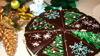 Шоколадно-кокосовый Торт Баунти. Простой Новогодний Рецепт Торта!