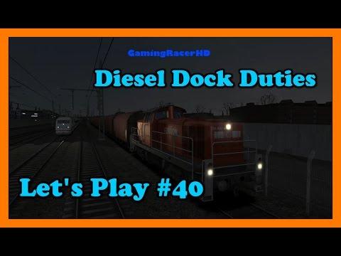 Train Simulator 2016 - Let's Play #40 - Hamburg To Hanover - Diesel Dock Duties [1080p 60FPS]