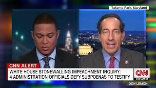 CNN - Raskin Discusses White House Stonewalling, Blocking Witness Testimony