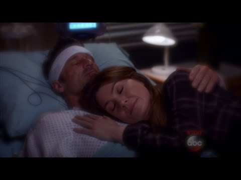 "Greys Anatomy 11x21 Meredith and Derek ""Wait For Me"" Scene ..."
