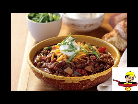 How To Make Chili From Scratch