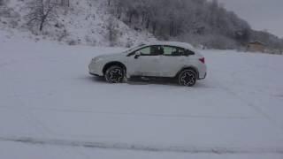 обзор Subaru XV по зимней дороге!