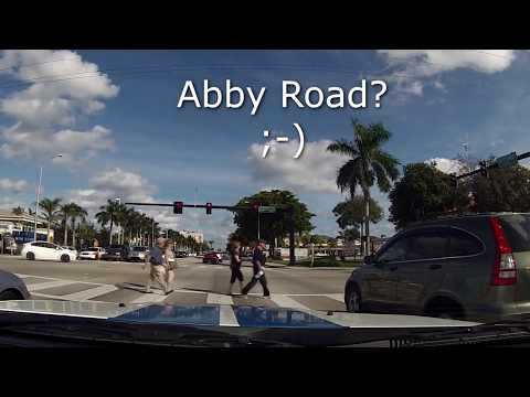 Drive A1A In Fort Lauderdale - Sit Back Sunday GoPro Cruise