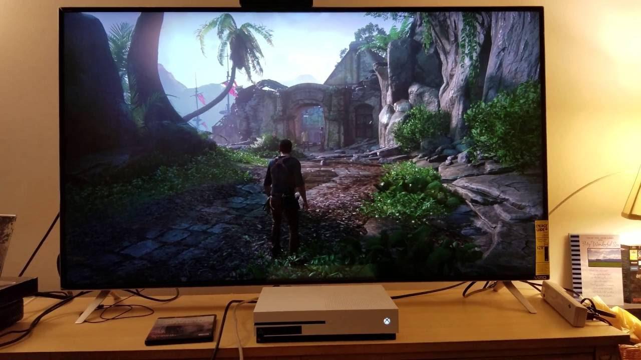 Uncharted 4 A Thiefs End Upscaled To 4k Via Xbox One S Vizio