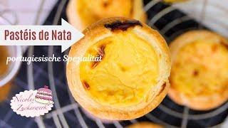 Pastéis de Nata I portugiesische Puddingtörtchen I Spezialität aus anderen Ländern