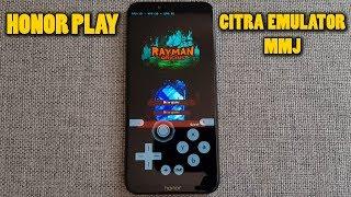 Honor Play - Rayman Origins - Citra 3DS Emulator MMJ - Test