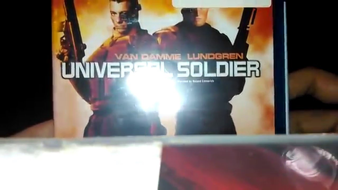 Download Universal Soldier Blu Ray Unboxing!!!