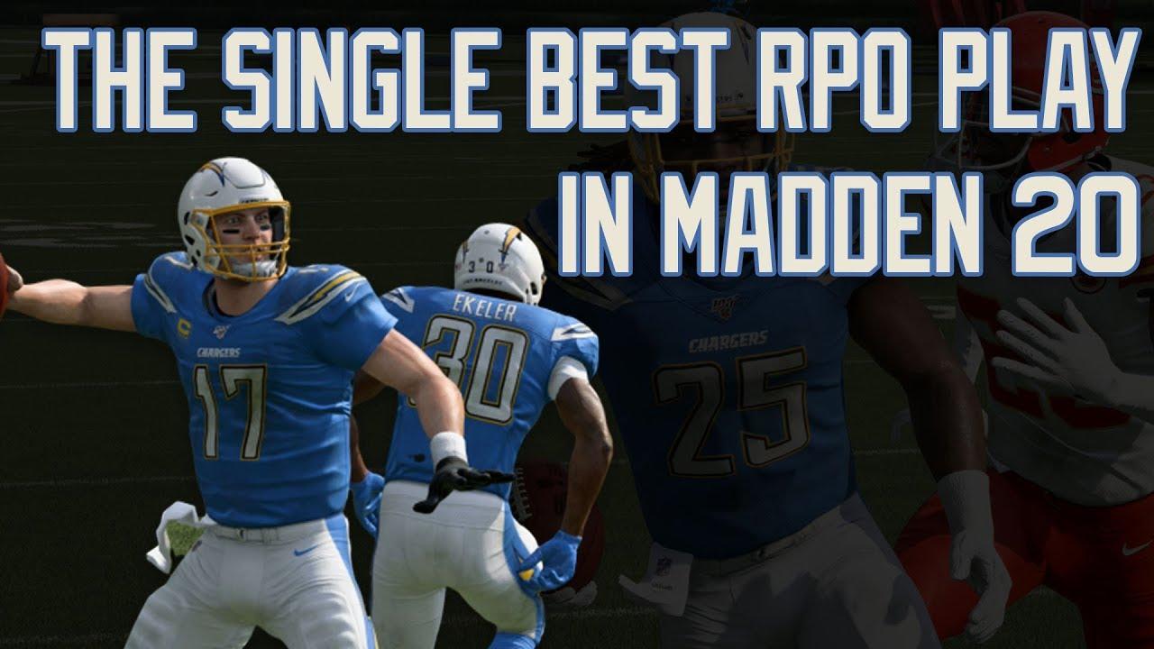 The BEST RPO in Madden 20