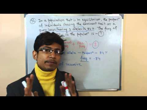 Population genetics problems 1