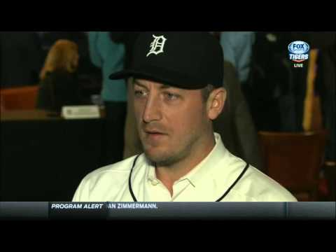 Jordan Zimmermann: I can't wait to get on the mound