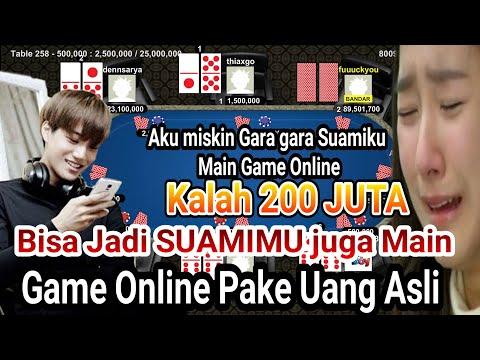 Jatuh MISKIN !! Gara Gara Main Game Online, Main Pakai Uang ASLI Kalah RATUSAN JUTA.