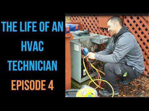 The Life of an HVAC Technician - Episode 4 - Installing a Trane 16 SEER HVAC System