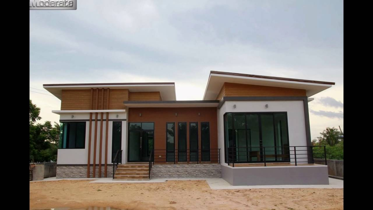 Thai modern house md15 youtube for Modern thai house design