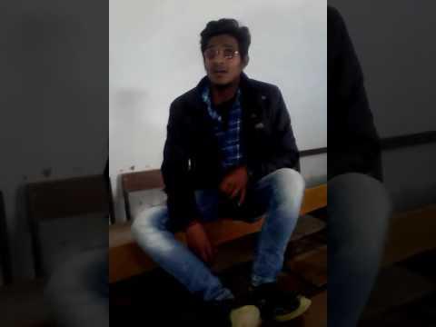 Gaurav and pratik khamoshiyaan C.M.P. Degree College .University Of Allahabad best singer