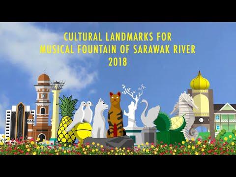Cultural Landmarks for Kuching Waterfront 2018 (Return)