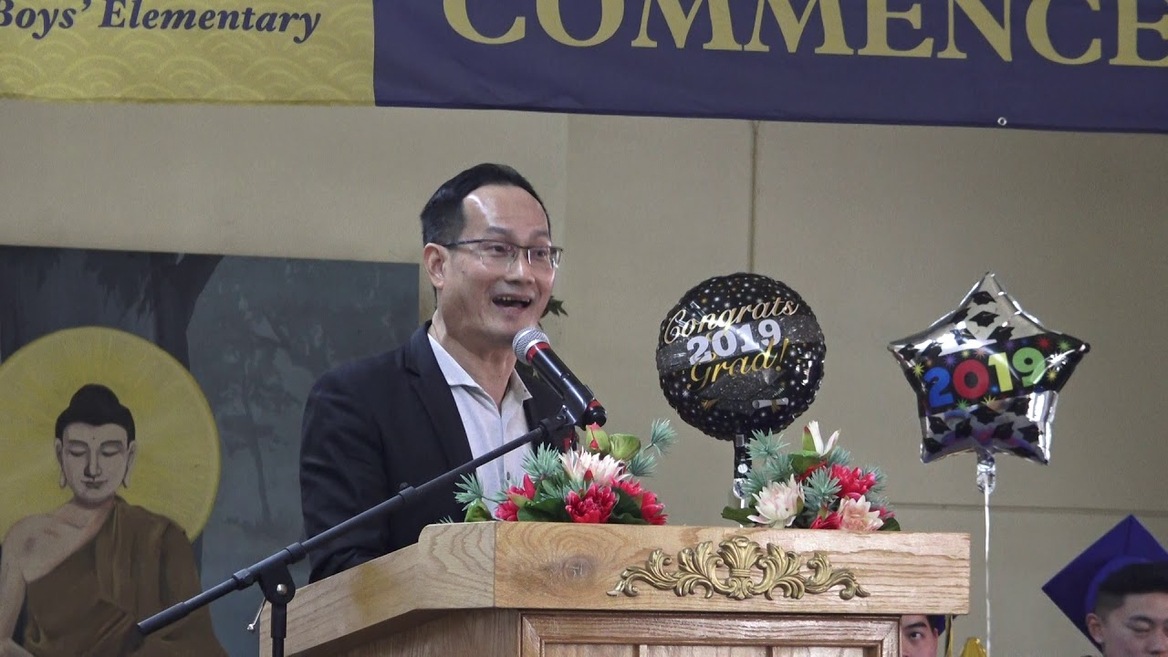 2019 Dvbs Graduation Parent Speaker Dylan Seng Kok Meng Chee