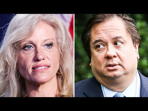 Kellyanne Conway's Husband Spent The Week Absolutely Destroying Trump