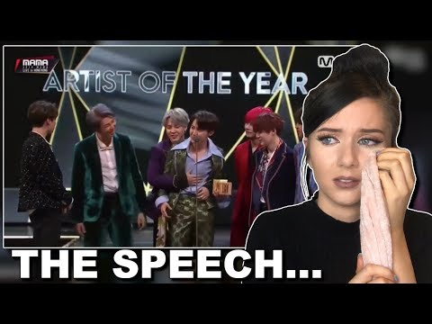BTS Win Daesang AOTY Reaction MAMA (this is too much) // itsgeorginaokay