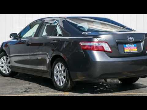 Great Used 2007 Toyota Camry Hybrid Santa Monica, CA #T21325