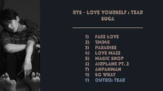 BTS - Love Yourself 'Tear' - Suga Total Parts