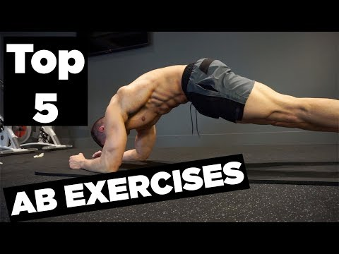 Top 5 Ab Exercises (FROM HOME)