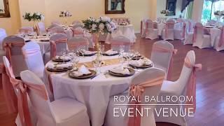 Beautiful Champagne & Rose Gold Wedding at Royal Ballroom Event Venue