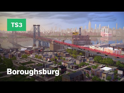 New York City In The Sims 3 • Boroughsburg World Overview