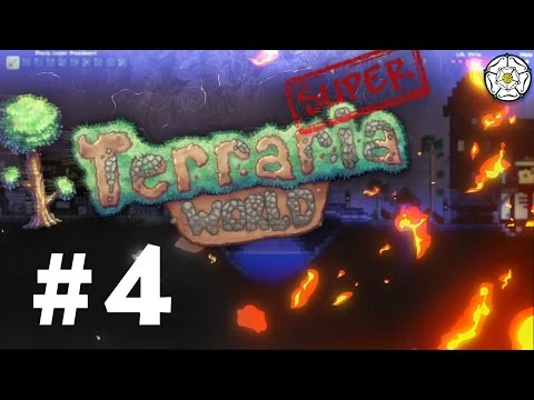 Super Terraria World Single Player Mod - The Ghoul Nest Ep 4 - Terraria 1.3.3.2