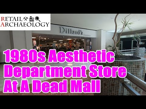 Dillard's Clearance: 1980s Aesthetic Department Store At A Dead Mall | Retail Archaeology