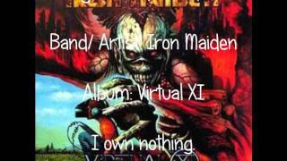 The Educated Fool- By Iron Maiden (Lyrics) [For MrGoldenGothic]