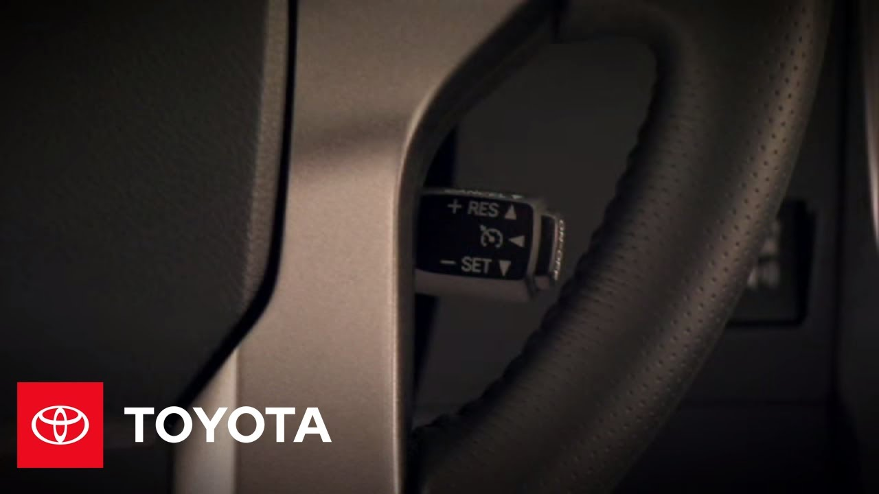 2010 4Runner How-To: Cruise Control | Toyota