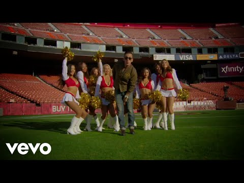 Clinton Sparks - Gold Rush (49ers Cheerleader Edition) ft. San Fran 49ers Cheerleaders