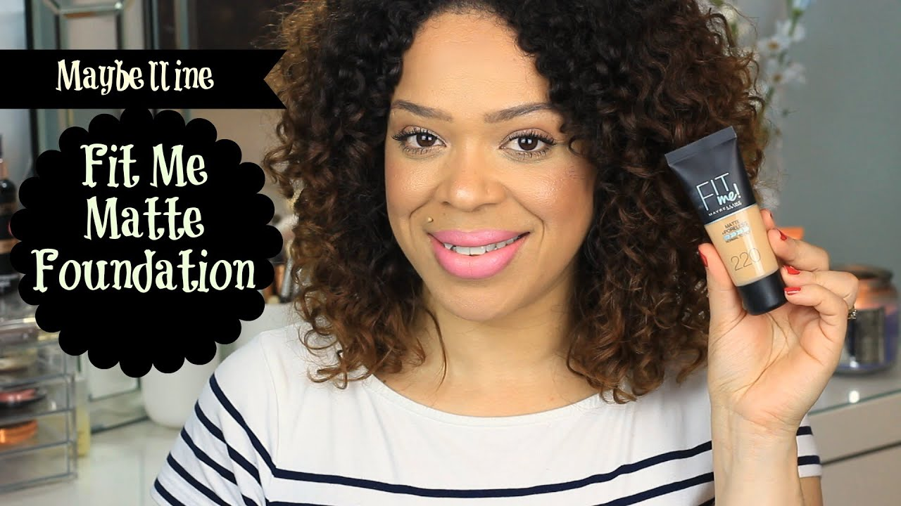 Maybelline Fit Me Matte Poreless Foundation Review Demo 220 Airyrooms 30ml