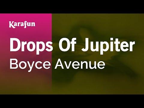 Karaoke Drops Of Jupiter - Boyce Avenue *