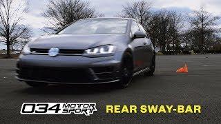 MK7 GOLF R 034Motorsport Rear Sway Bar [Review + Test]