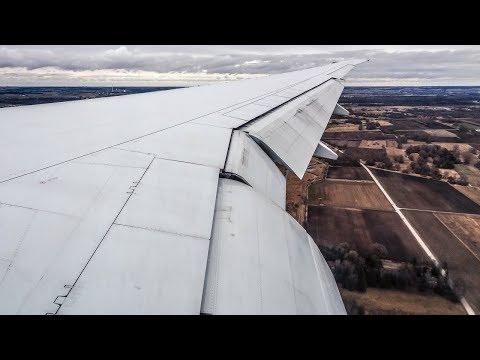 Air Canada Boeing 777-200LR MORNING LANDING at Munich Airport (MUC)