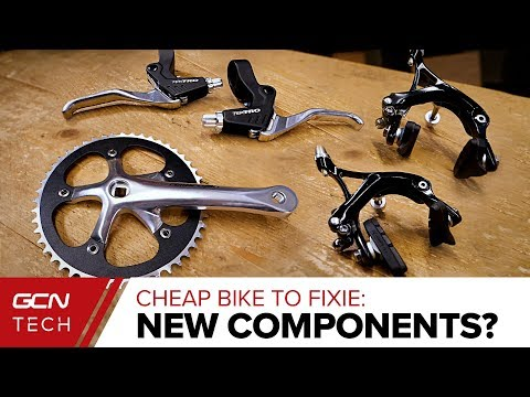 Choosing New Bike Parts & Components | Cheap Bike To Fixie Ep. 2