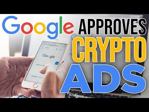 Google Approves Crypto