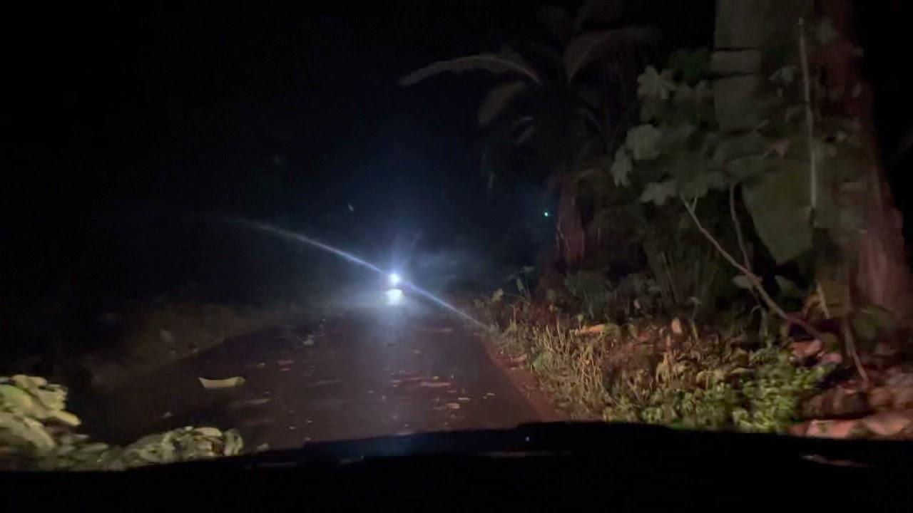 Jalan Sumurwatu - Wuni Pada Malam Hari