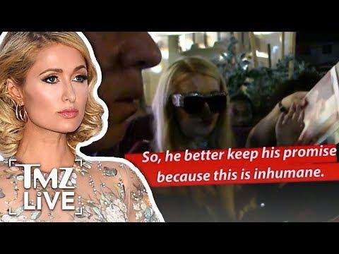 Paris Hilton Disgusted By Trump | TMZ Live