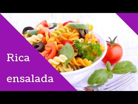 Como hacer una rica ensalada de pasta / Troski & compañía