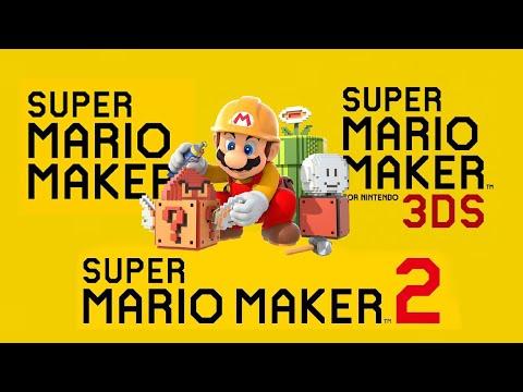 Super Mario Maker- All Trailers (2015-2019)