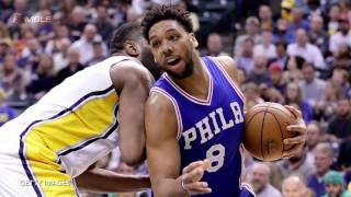 "Jahlil Okafor Replaces Joel Embiid, Dad THREATENS 76ers Fan: ""Imagine Me Slappin the Sh!t Outta You"""