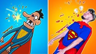 Cartoon Box Catch Up Parody #14 | The BEST of Cartoon Box | Hilarious Cartoon | Superman Cartoon