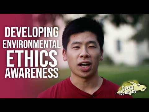 Developing Environmental Ethics Awareness