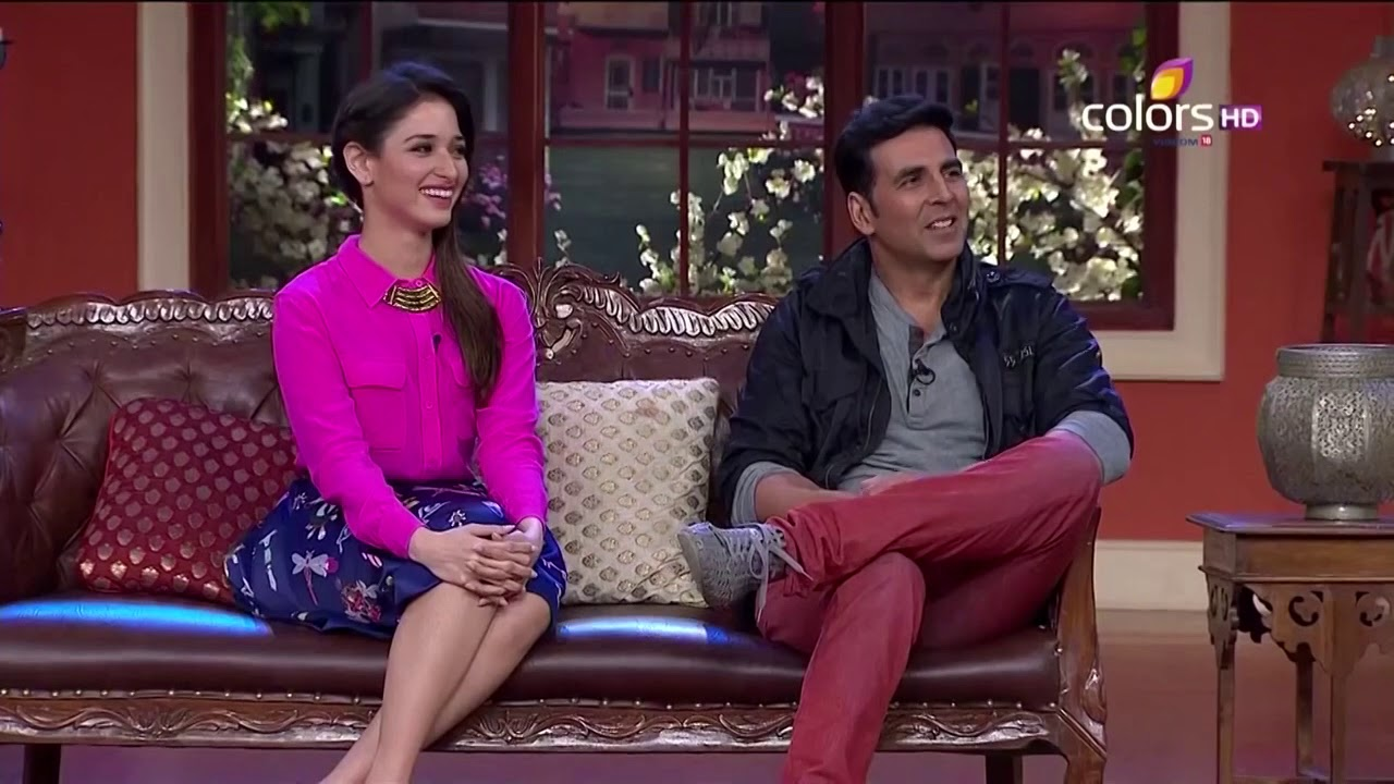 Download Comedy Nights With Kapil - Akshay, Tamanna, Mithun - Entertainment - 9th August 2014 - Full Ep(HD)