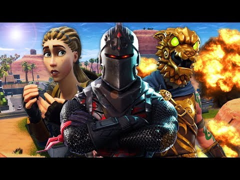 BLACK KNIGHT VS BATTLEHOUND | A Fortnite Film (Black Knight's Revenge)