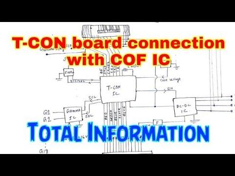 [DIAGRAM_1CA]  T-CON board connection with COF IC full information - YouTube | T Con Board Block Diagram |  | YouTube
