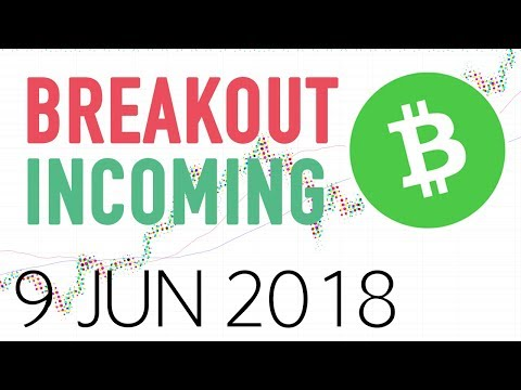 Bitcoin Cash BCHUSD TA (breakouts tutorial) 9 jun 2018